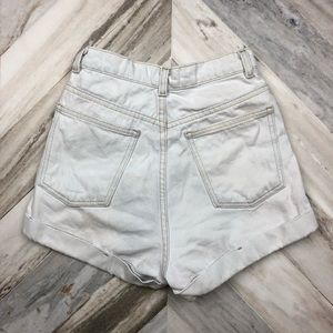 American Apparel Shorts - American Apparel High Waisted Jean Shorts Size 26